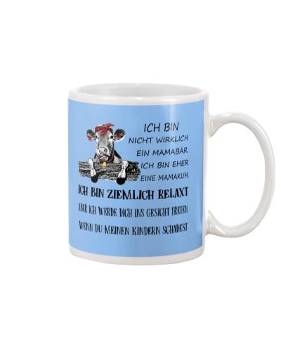 cow mug - I'm more of a mama cow german vs