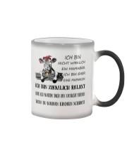 cow mug - I'm more of a mama cow german vs Color Changing Mug thumbnail