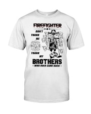 Firefighter Brother Classic T-Shirt thumbnail