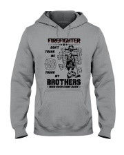 Firefighter Brother Hooded Sweatshirt thumbnail