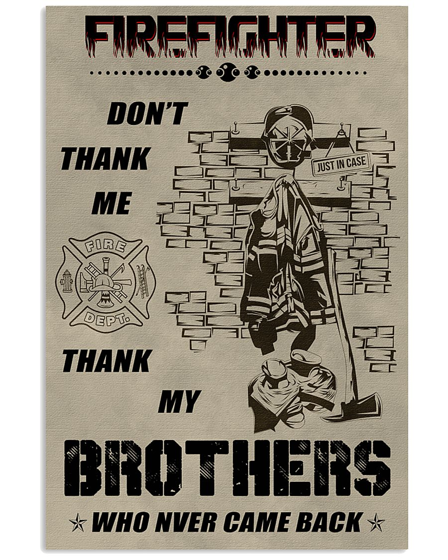 Firefighter Brother 11x17 Poster