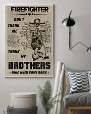 Firefighter Brother 11x17 Poster lifestyle-poster-1
