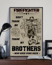 Firefighter Brother 11x17 Poster lifestyle-poster-2