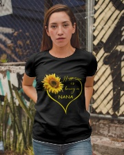 sunflower T-shirt - being a Nana Ladies T-Shirt apparel-ladies-t-shirt-lifestyle-03