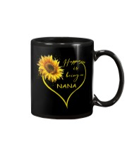 sunflower T-shirt - being a Nana Mug thumbnail