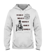 Firefighter Poster ver2 Hooded Sweatshirt thumbnail