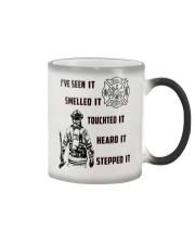 Firefighter Poster ver2 Color Changing Mug thumbnail