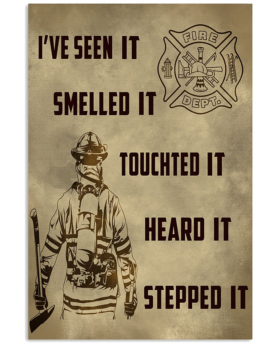 Firefighter Poster ver2 11x17 Poster