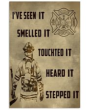 Firefighter Poster ver2 11x17 Poster front