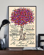 family poster - to granddaughter - never lose 11x17 Poster lifestyle-poster-2