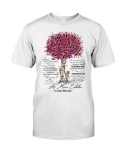 family T-shirt - to granddaughter - never lose Classic T-Shirt thumbnail
