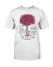 family T-shirt - to granddaughter - never lose Premium Fit Mens Tee thumbnail