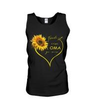 sunflower T-shirt - being a Nana german vs Unisex Tank thumbnail
