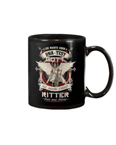 knight mug - knights are my brothers german vs
