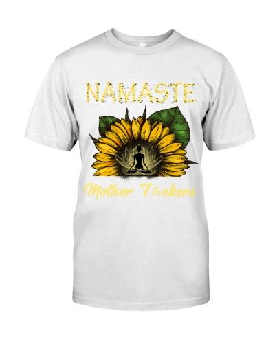 sunflower mug - yoga Namaste