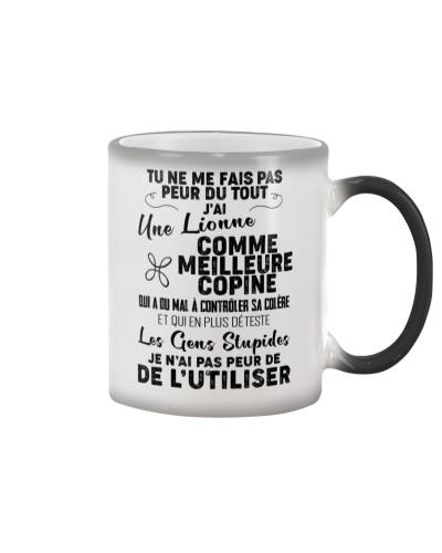 friendship mug - You can't scare me