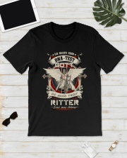 knight T-shirt - knights are my brothers german vs Classic T-Shirt lifestyle-mens-crewneck-front-17