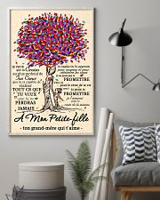 family poster - to granddaughter - never lose 11x17 Poster lifestyle-poster-1