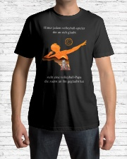 volleyball mug -to dad-volleyball player Premium Fit Mens Tee lifestyle-mens-crewneck-front-1