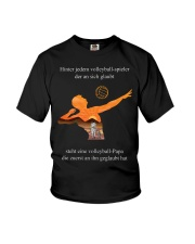 volleyball mug -to dad-volleyball player Youth T-Shirt tile