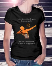 volleyball mug -to dad-volleyball player Premium Fit Ladies Tee lifestyle-women-crewneck-front-7