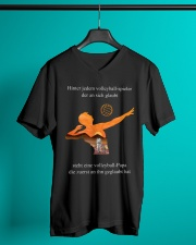 volleyball mug -to dad-volleyball player V-Neck T-Shirt lifestyle-mens-vneck-front-3