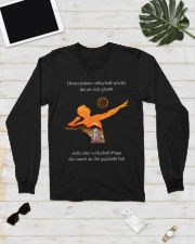 volleyball mug -to dad-volleyball player Long Sleeve Tee lifestyle-unisex-longsleeve-front-6