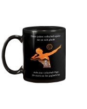 volleyball mug -to dad-volleyball player Mug back