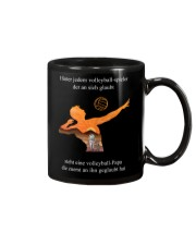 volleyball mug -to dad-volleyball player Mug front
