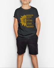sunflower mug - to girl with tatoos Youth T-Shirt lifestyle-youth-tshirt-front-1