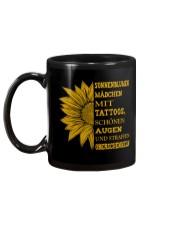 sunflower mug - to girl with tatoos Mug back