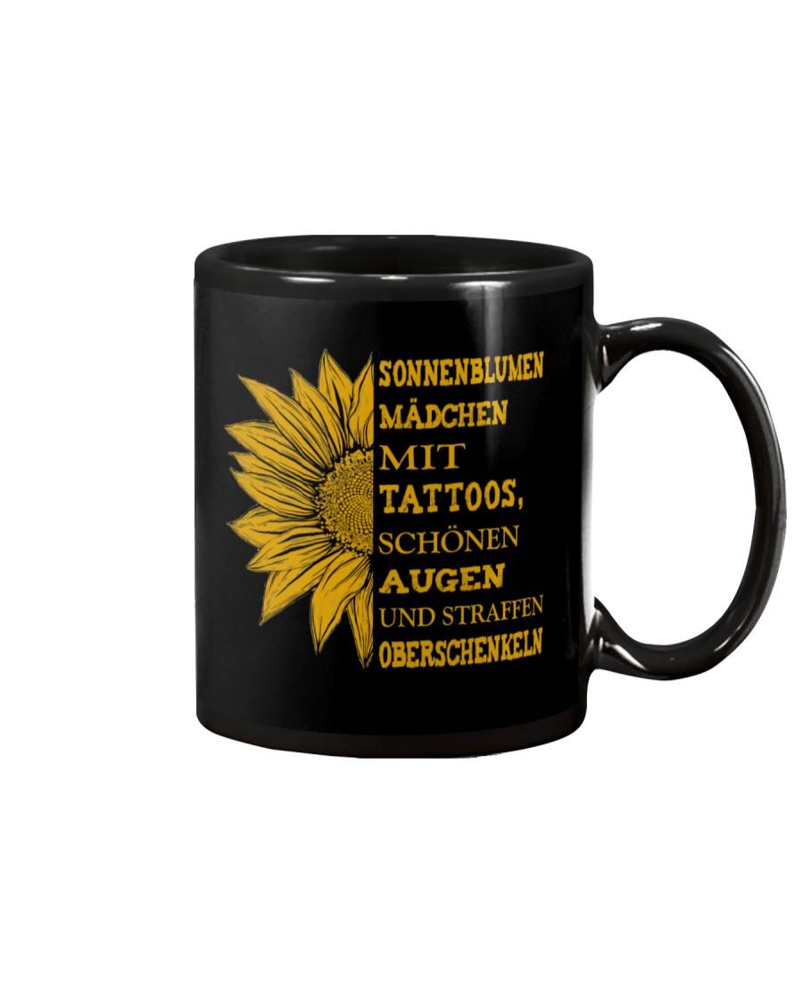 sunflower mug - to girl with tatoos Mug