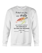 turtle mug - once upon a time Crewneck Sweatshirt thumbnail