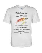 turtle mug - once upon a time V-Neck T-Shirt thumbnail