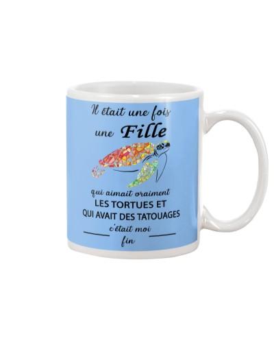 turtle mug - once upon a time