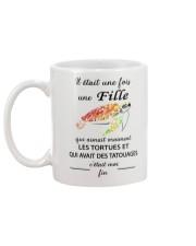 turtle mug - once upon a time Mug back