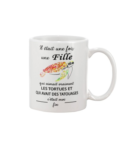turtle mug - once upon a time