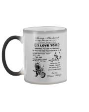 Biker mug - To my husband - I love you  Color Changing Mug color-changing-left