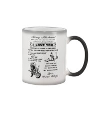 Biker mug - To my husband - I love you  Color Changing Mug thumbnail