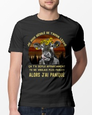 cow T-shirt - I'm sorry I licked you french vs Classic T-Shirt lifestyle-mens-crewneck-front-13
