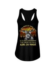 cow T-shirt - I'm sorry I licked you french vs Ladies Flowy Tank thumbnail