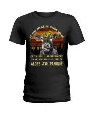 cow T-shirt - I'm sorry I licked you french vs Ladies T-Shirt thumbnail