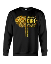 Sunflower girl Crewneck Sweatshirt thumbnail