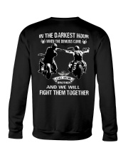 True victory is victory over oneself Crewneck Sweatshirt thumbnail