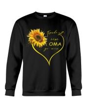 sunflower mug - being a Nana german vs Crewneck Sweatshirt thumbnail