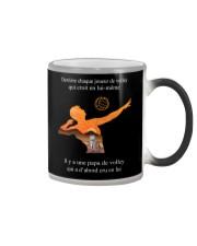 volleyball mug- to dad -volleyball player Color Changing Mug thumbnail