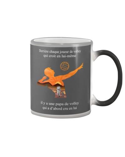 volleyball mug- to dad -volleyball player