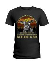 cow mug - I'm sorry I licked you german vs Ladies T-Shirt thumbnail