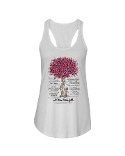 family T-shirt - to granddaughter - never lose  Ladies Flowy Tank thumbnail