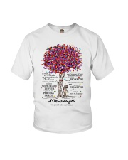 family T-shirt - to granddaughter - never lose  Youth T-Shirt thumbnail